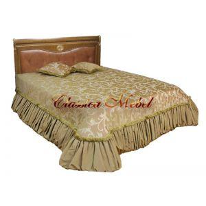 Кровать Лика 2 (медовый дуб, 120см)