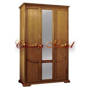 Шкаф Лика 2 (медовый дуб, с зеркалом)