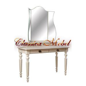 Туалетный столик Лика (белая эмаль)