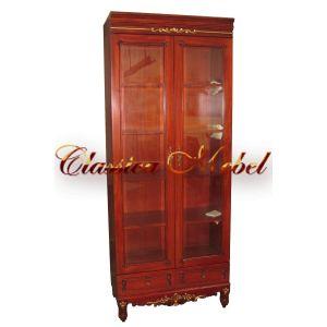Шкаф книжный CB.137.2.W