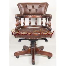 Кабинетное кресло 12027 Brown