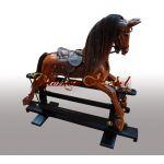 Лошадка-качалка Бархат