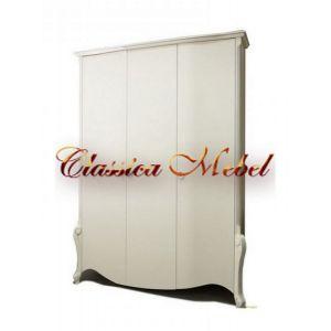 Шкаф Луиза 2 (белая эмаль+сп)