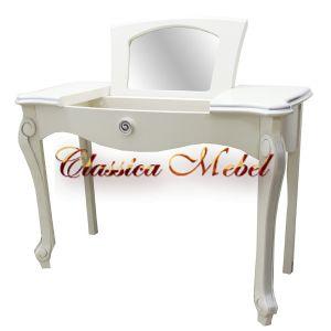 Туалетный столик Луиза (белая эмаль+сп)