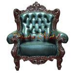 Кресло FS.16.1.G (слоновая кость с золотом)