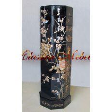 Тумба TR-95-0011 (золотые цветы)