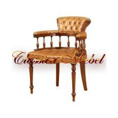 Кресло CORA-M (кожа коричневая, зеленая, черная)