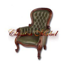 Кресло CGF-M (зеленая кожа)