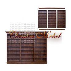 Шкаф книжный BSHKC-M