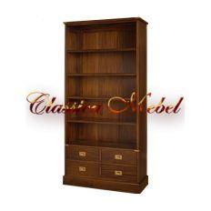 Шкаф книжный BSM4D-M