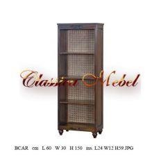 Шкаф книжный BCAR-M