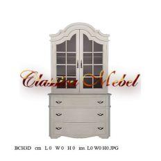 Шкаф книжный BCH3D