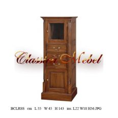Шкаф книжный BCLRSS-M