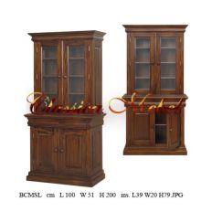 Шкаф книжный BCMSL-02