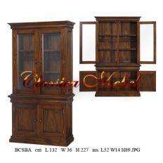 Шкаф книжный BCSBA-M