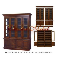 Шкаф книжный BCT4KDB-M