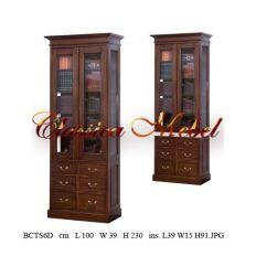 Шкаф книжный BCTS6D-M