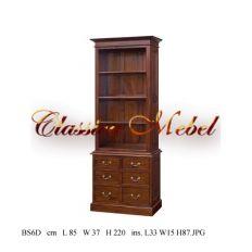 Шкаф книжный BS6D-M