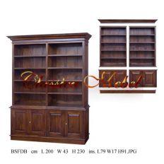 Шкаф книжный BSFDB-M