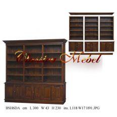Шкаф книжный BSH6DA-M