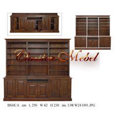 Шкаф книжный BSHCA-08