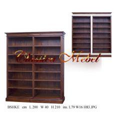 Шкаф книжный BSHKE-M