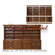 Шкаф книжный BSHLKA-12
