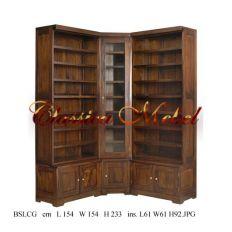 Шкаф книжный угловой BSLCG-06