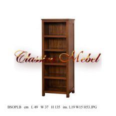 Шкаф книжный BSOPLB-M