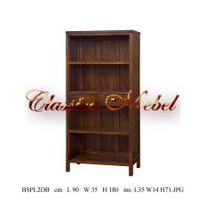 Шкаф книжный BSPL2DB-M