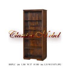 Шкаф книжный BSPLC-M