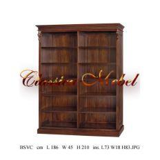 Шкаф книжный BSVC-03