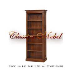 Шкаф книжный BSVSC-M