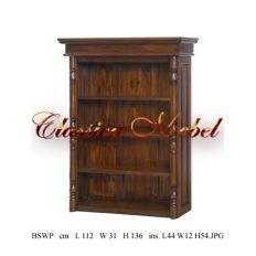 Шкаф книжный BSWP-M