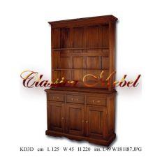 Шкаф книжный KD3D-M