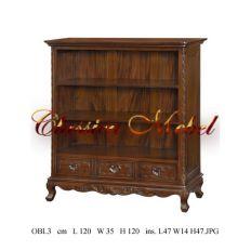 Шкаф книжный OBL3-M
