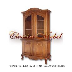 Шкаф книжный WBWG-M