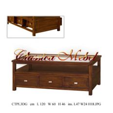 Кофейный столик CTPL3DG-M
