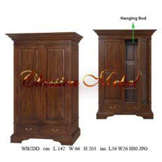 Шкаф WB2DD-02