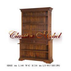 Шкаф книжный SBSH-M
