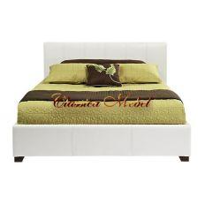 Кровать белая h99 L236 w170