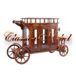 Сервировочный стол-карета PYW 18