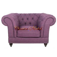 Кресло Dasen purple