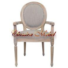 Кресло Diella pinstripe