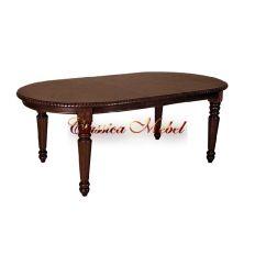 Обеденный стол MK-1103-AB (раскладной) (черный)