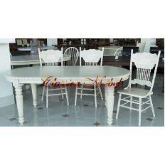 Обеденный стол MK-1103-AW (раскладной)