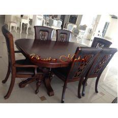 Обеденный стол MK-4500-LW (раскладной)