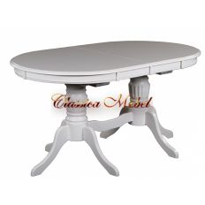 Обеденный стол MK-1215-BW (раскладной)