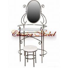 Туалетный столик с банкеткой MK-2218-BN