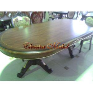 Обеденный стол MK-3043-BR (раскладной)